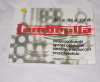 GP Spares Catologue - books, gifts, gift, Lambretta book, catologue, lambretta GP spares book