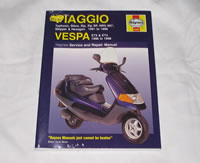 Haynes Piaggio Manual - gift, gifts, book, books, Piaggio manual, Vespa manual, Scooter manual, workshop manual,  Piaggip ET manual, haynes manual, ET2 MANUAL, ET4 MANUAL, PIAGGIO MANUAL