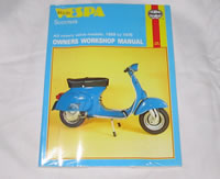 Vespa Haynes Manual - book, books, gif, gifts, Vespa Manual, Vespa Haynes Manual, VESPA WORKSHOP MANUAL, VESPA REPAIRS BOOK, VESPA BOOK