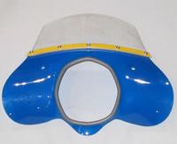 Flyscreen Blue - Lambretta flyscreen, Li flyscreen, sx flyscreen, tv flyscreen, flyscreen, fly screen
