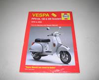PX Disc Haynes Manual - book, books, vespa book, gift, gifts, Vespa manual, PX Disc Haynes Manual, Vespa PX workshop manual, P range workshop manual