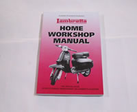 Lambretta Workshop Manual - book, book, gifts, gift, Lambretta manual, Lambretta Workshop Manual