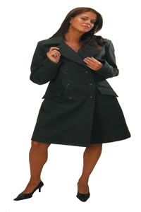 Carmen, double breasted coat - Tucano Urbano, Ladies coat, coats, jackets, clothing