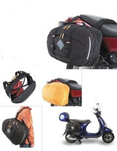 Large Side Bags LX / ET /GT Models - Vespa luggage, vespa panniers, luggage storage, Vespa Lx accessory, Vespa LX accessories,