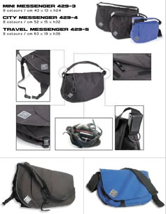 Travel Messenger Bag - Travel Messenger Bag -Great for putting your sarnies in